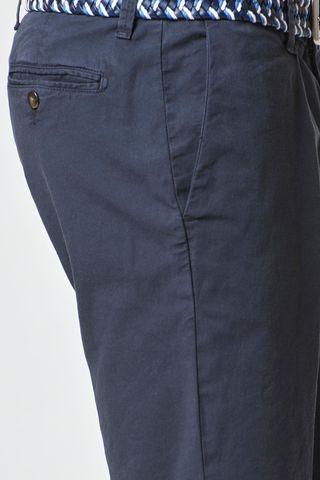 bermuda blu cotone elasticizzato Angelico