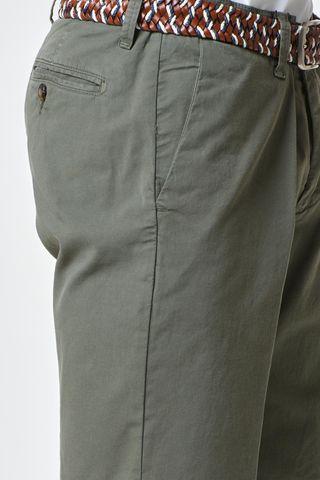 bermuda militare cotone elasticizzato Angelico