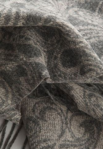 grey scarf with kashmir pattern Angelico