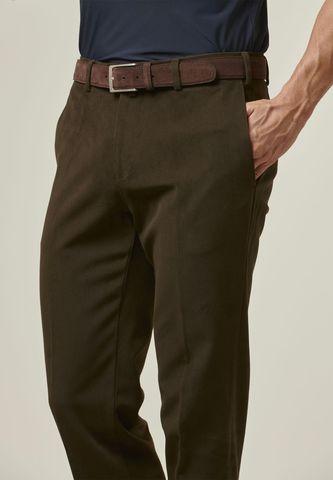 pantalone moro drill cotone Angelico