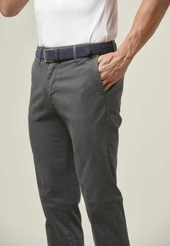 pantalone grigio cotone tc gabardina Angelico