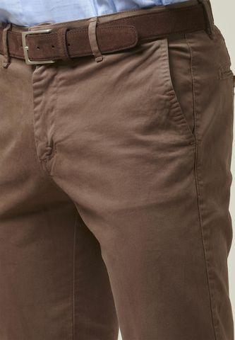 pantalone marrone cotone tc gabardina Angelico