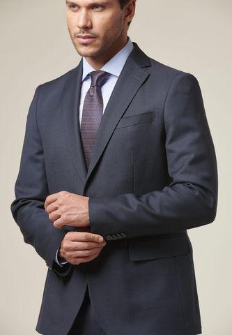 blue suit fancy bird-eyes slim Angelico