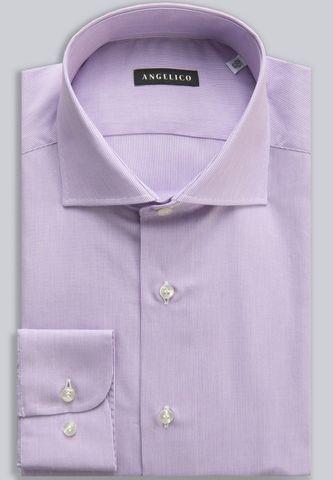 camicia glicine 2000righe slim Angelico