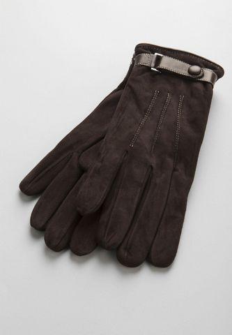 guanti moro camoscio e cinturino Angelico