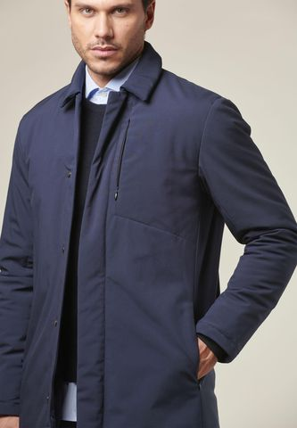 technical blue thermolite coat Angelico