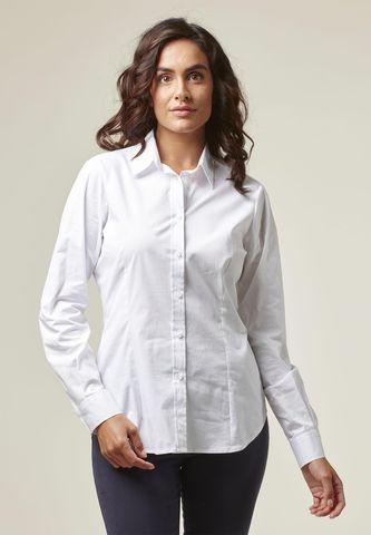 Camicia donna bianca elasticizzata Angelico