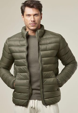 militar green jacket eco-down Angelico